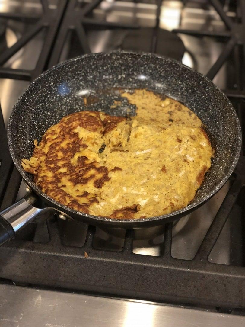 flour free protein pancake fail