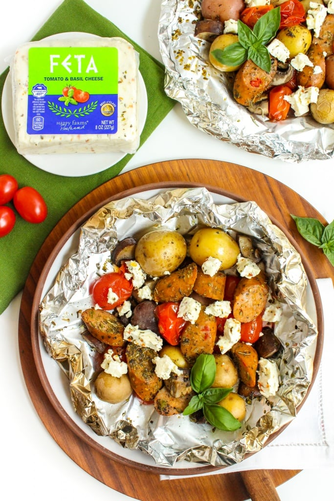 sausage and veggie foil packets recipe7