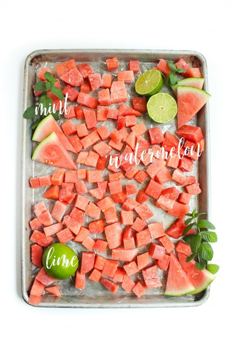 watermelon mojito sorbet ingredients