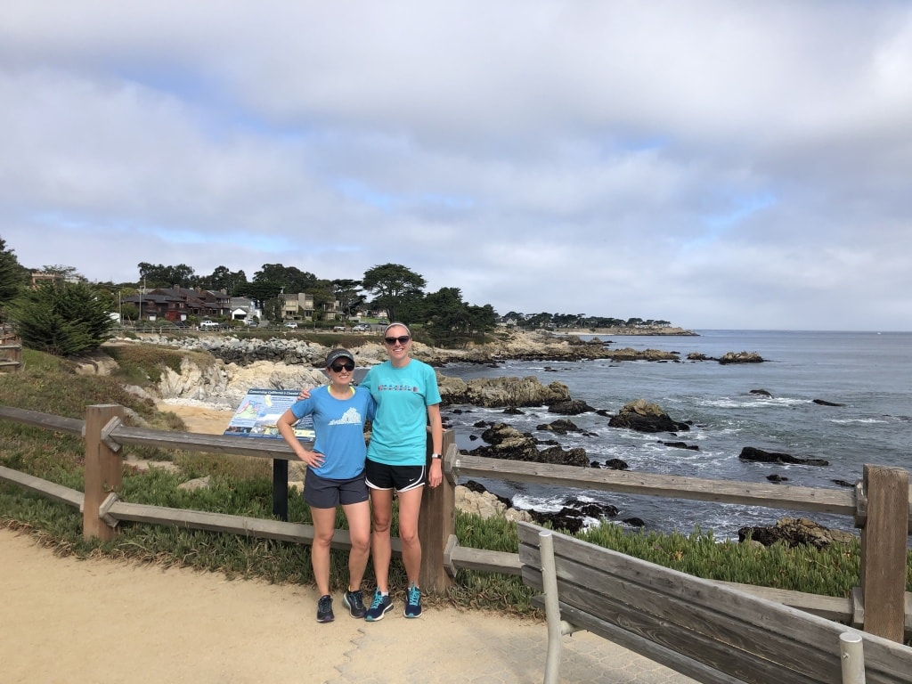 running in monterey california