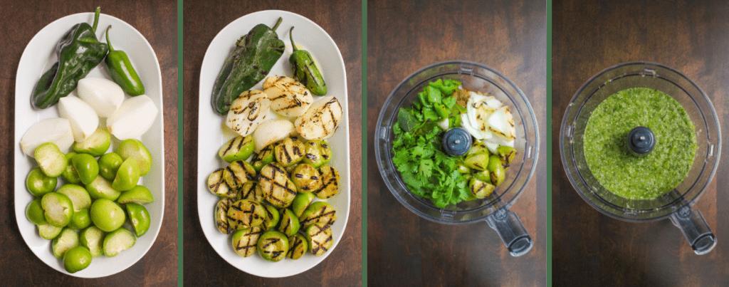 how to make Salsa Verde Steps