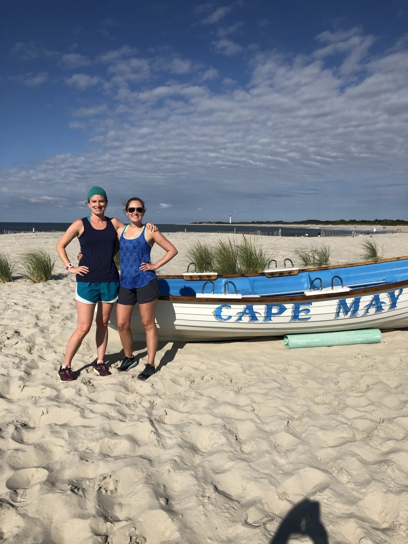 running in cape may NJ