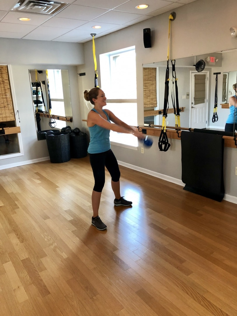 the studio sewickley trx kettlebell workout