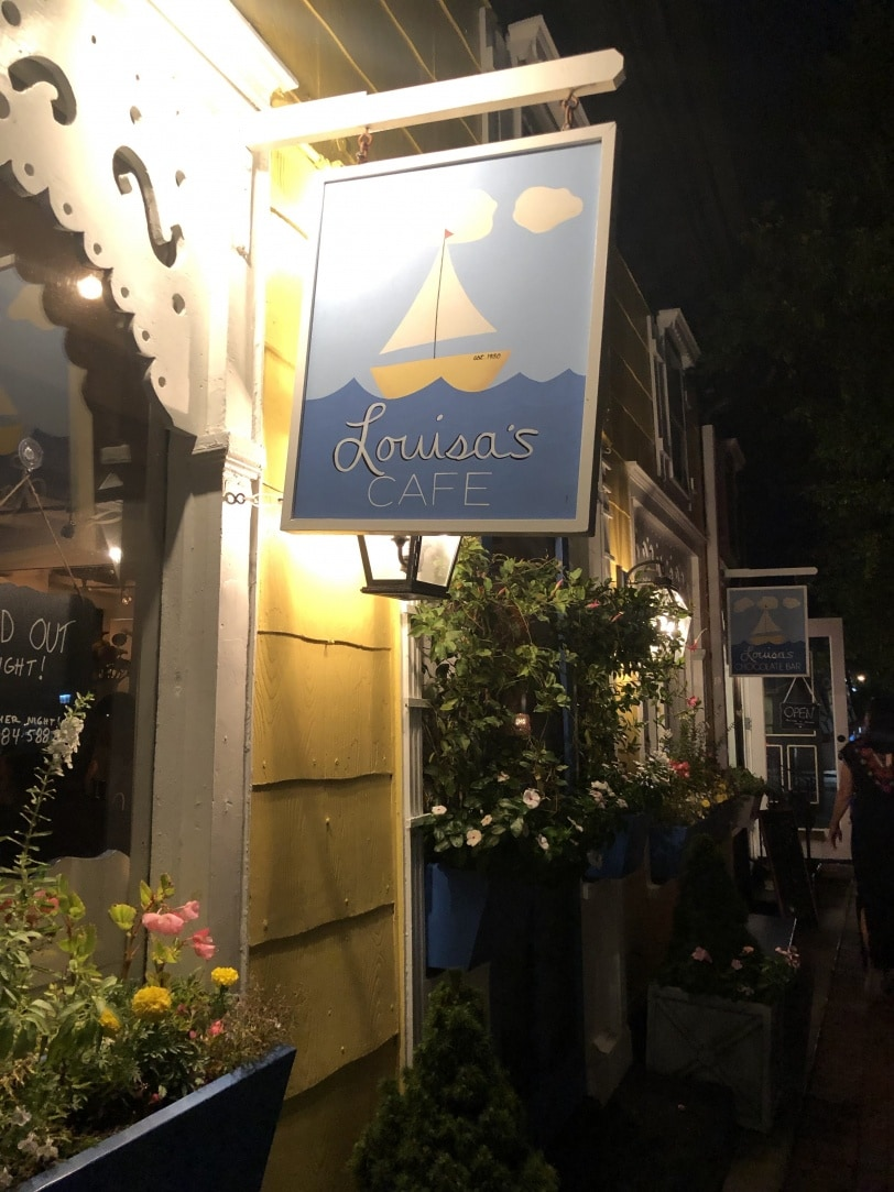 louisa's cafe cape may