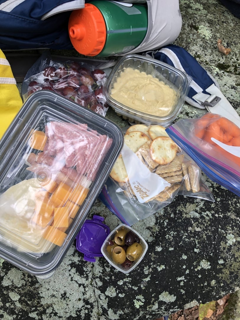 trail picnic lunch