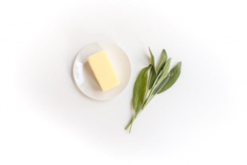 sage browned butter ingredients