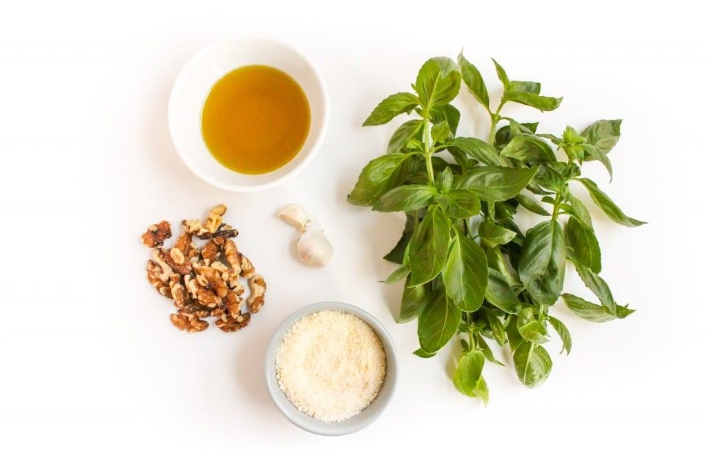 basil and walnut pesto pasta sauce ingredients