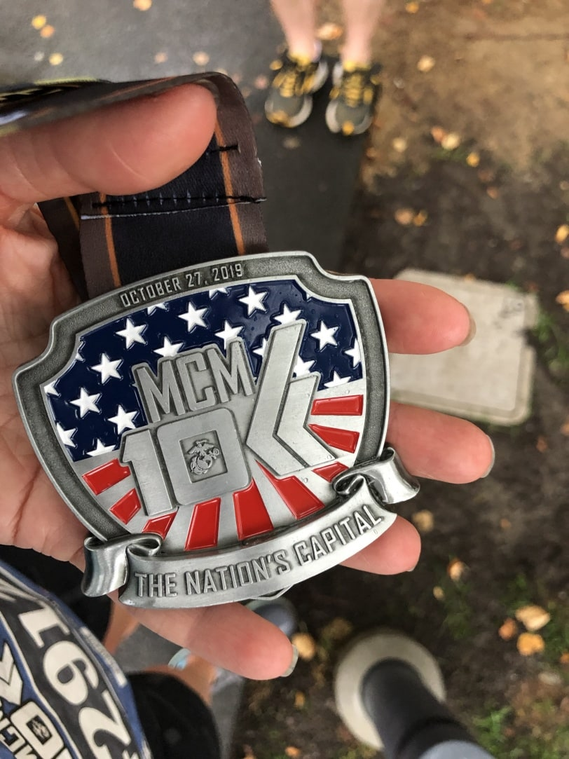 marine corps 10k race medals 2019