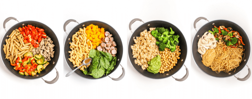 Mix & Match Pasta Recipes