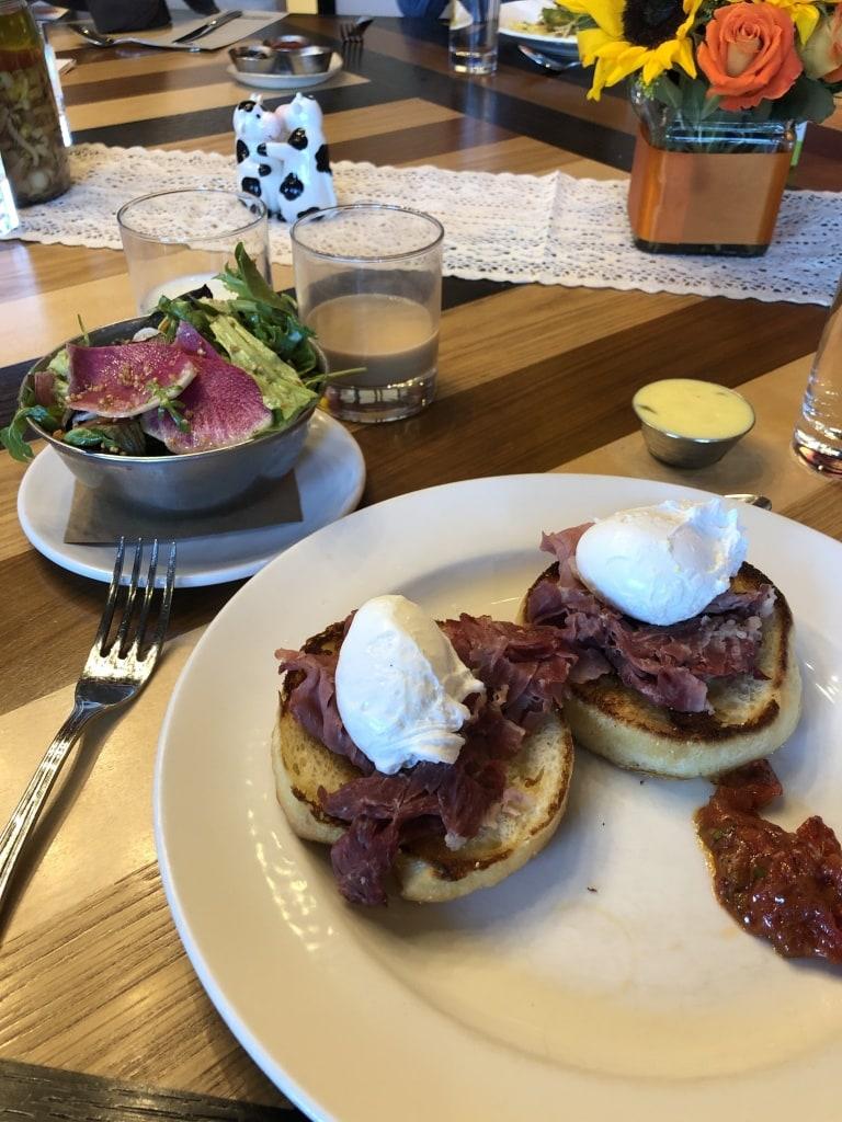 urban farmer breakfast