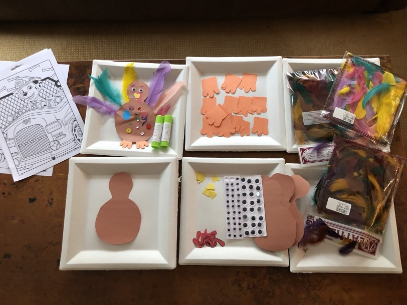 fun turkey thanksgiving craft for kids