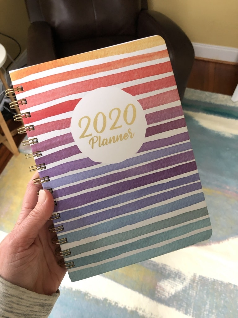 cute 2020 planner monthly weekly