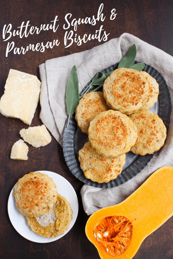 butternut squash parmesan biscuits recipe