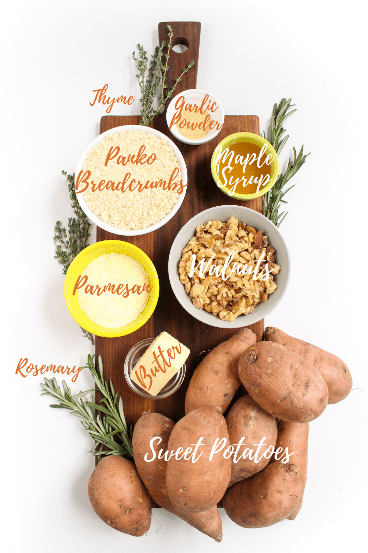 savory sweet potato casserole ingredients