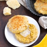 butternut squash parmesan biscuits thanksgiving recipe