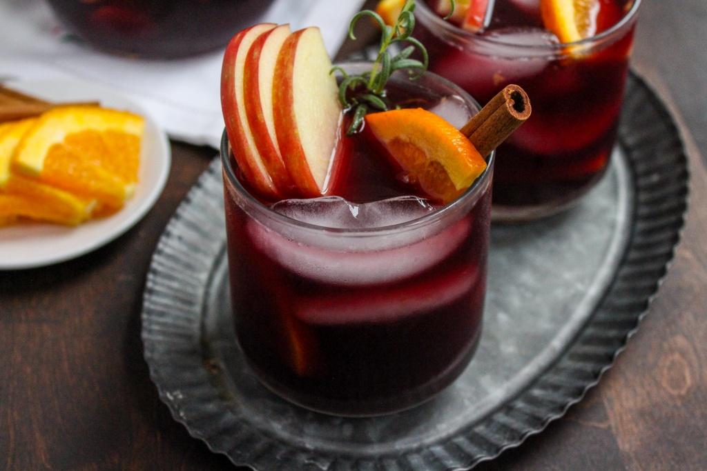 iced fall sangria recipe