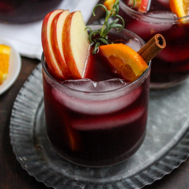 iced fall sangria recipe