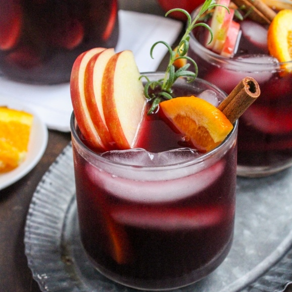 easy fall sangria recipe
