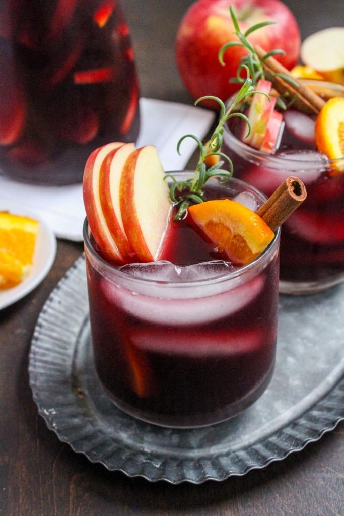 fall sangria recipe easy to make