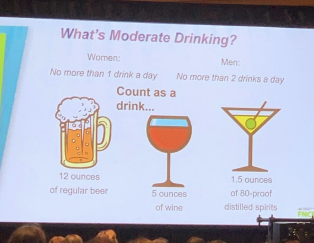 what does moderate drinking mean