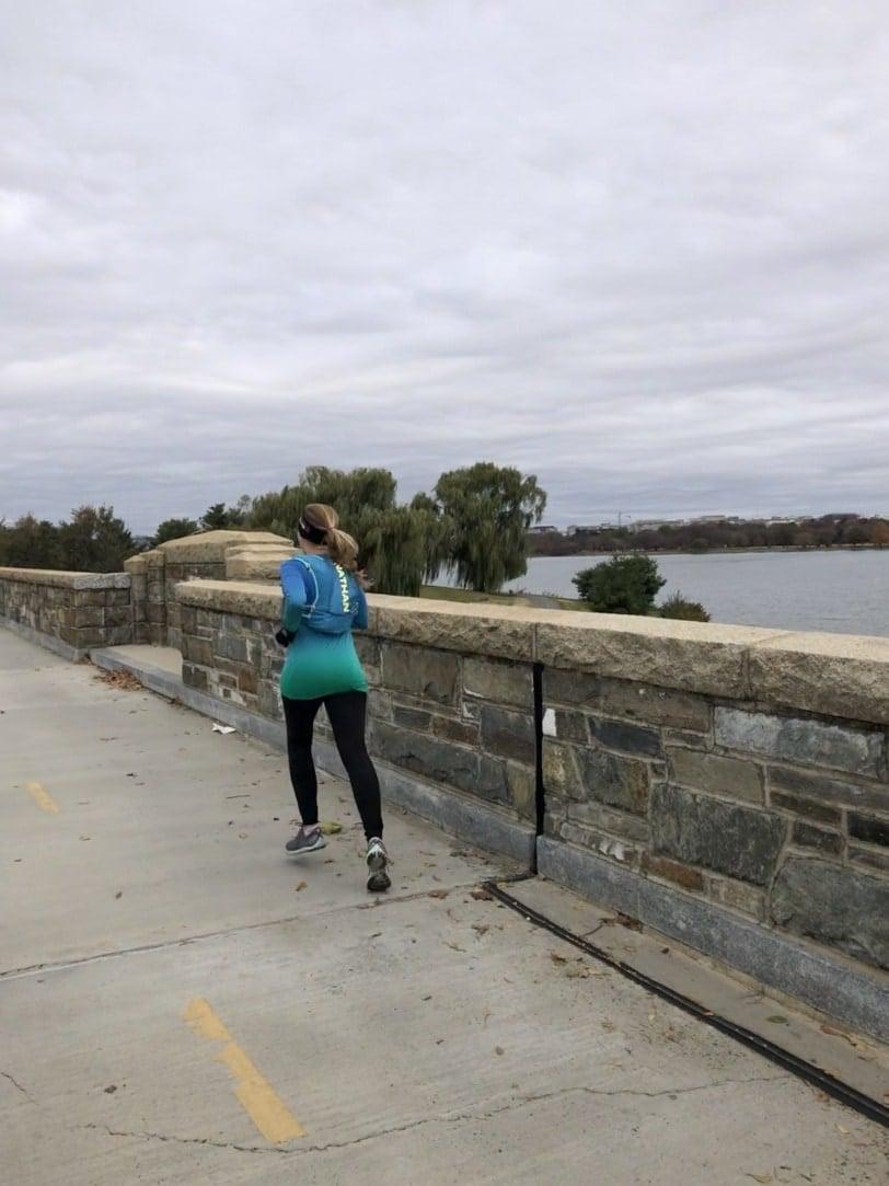 running on the mt vernon trail