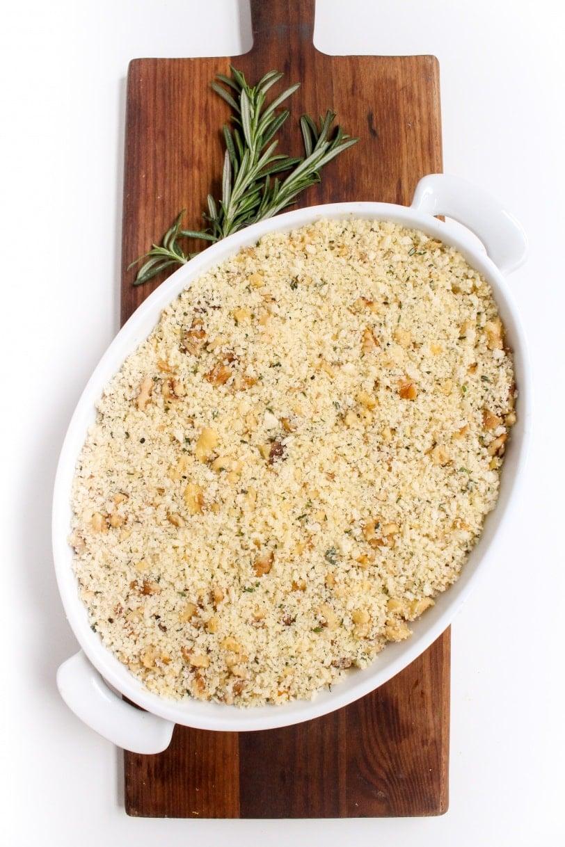 prep ahead savory sweet potato casserole