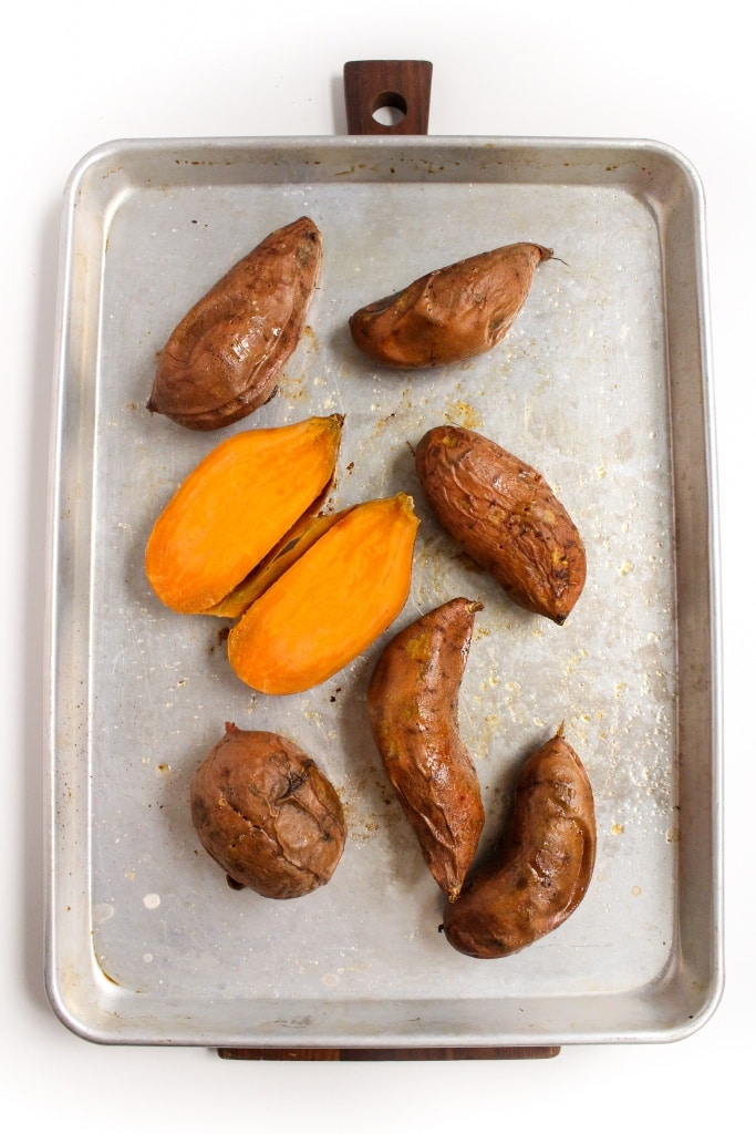 how to roast sweet potatoes