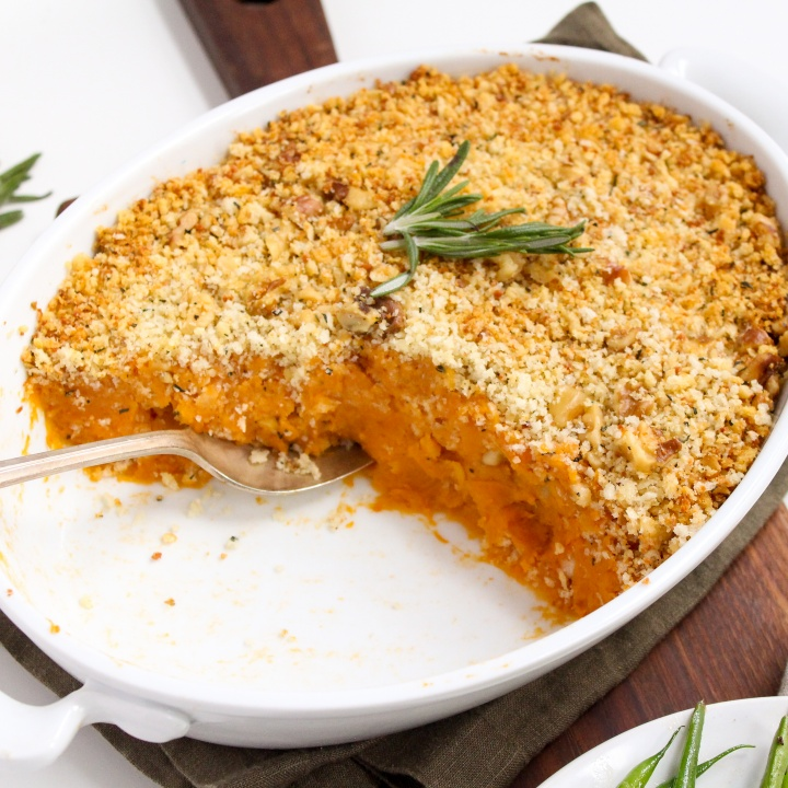 savory sweet potato casserole easy recipe