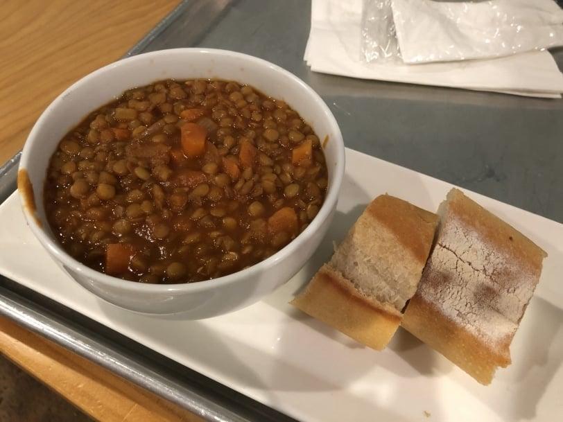 bon vivante cafe lentil soup
