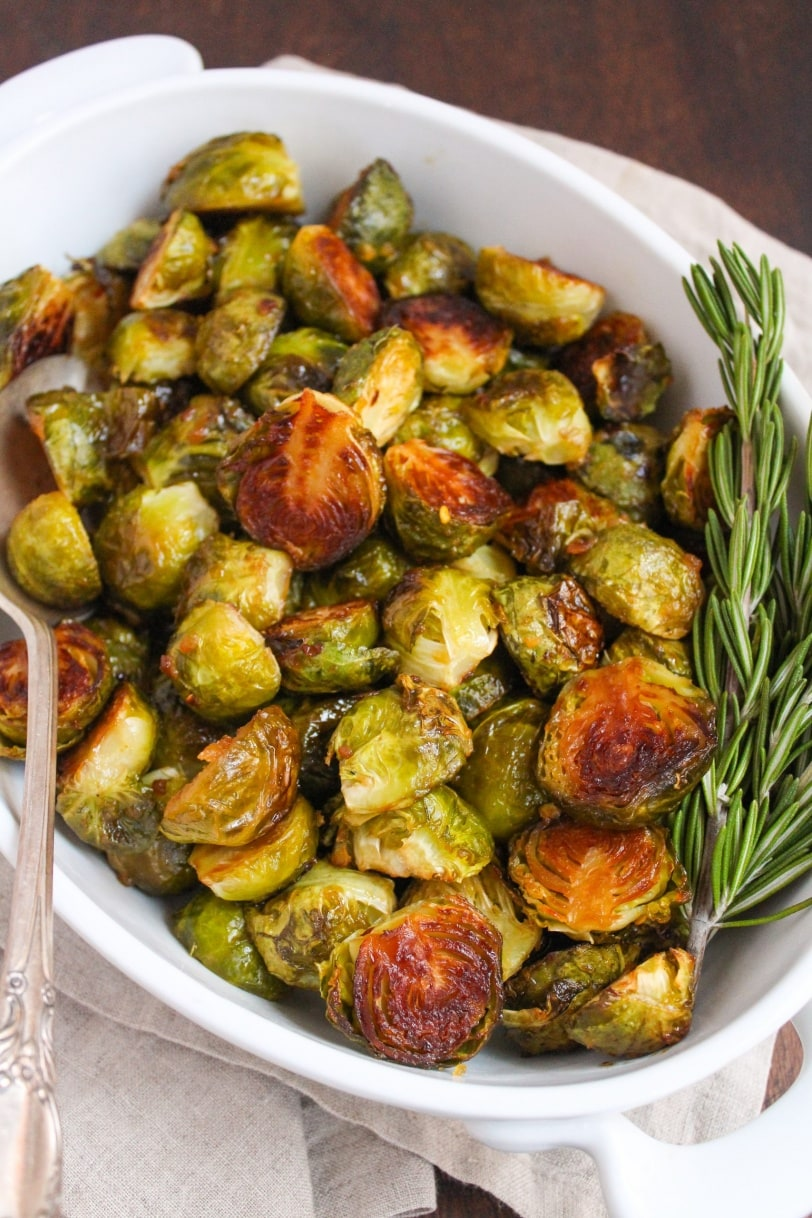 miso honey roasted brussels sprouts recipe