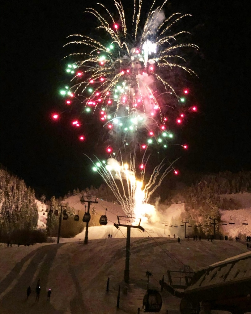 aspen fireworks new years eve