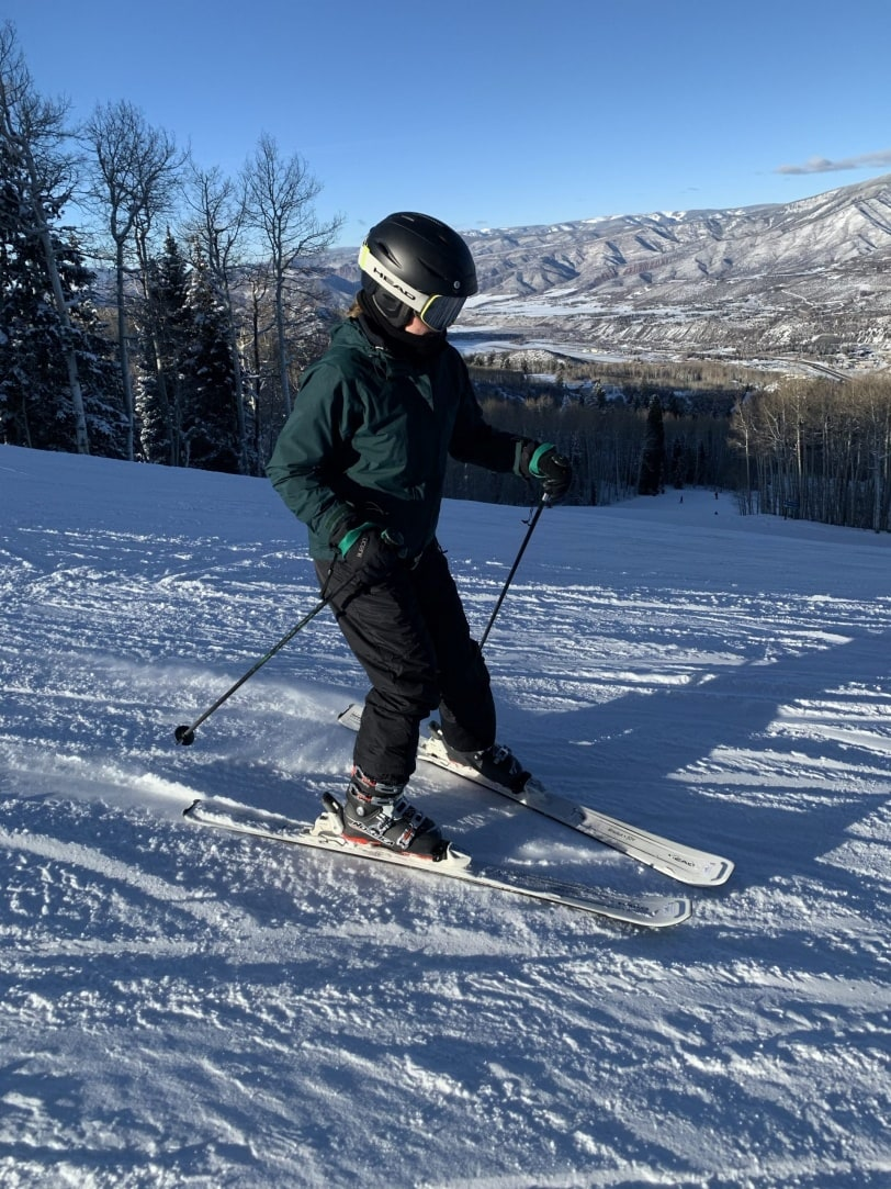 skiing buttermilk mountain near aspen