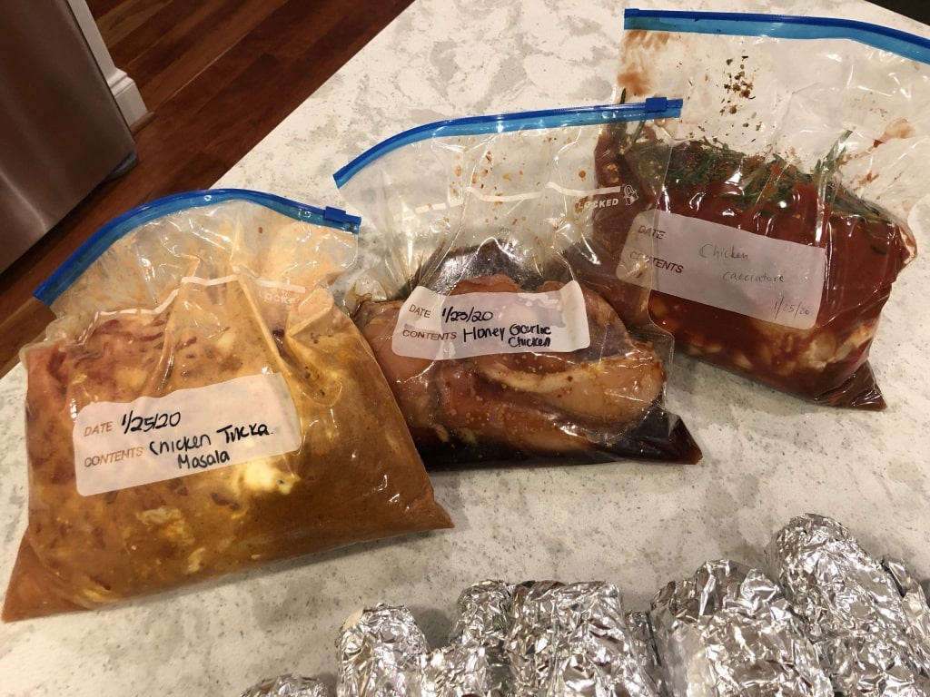 prep ahead freezer meals for slow cooker