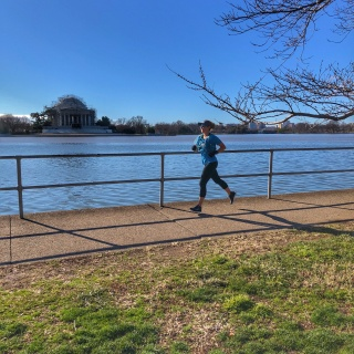 dc running blogger