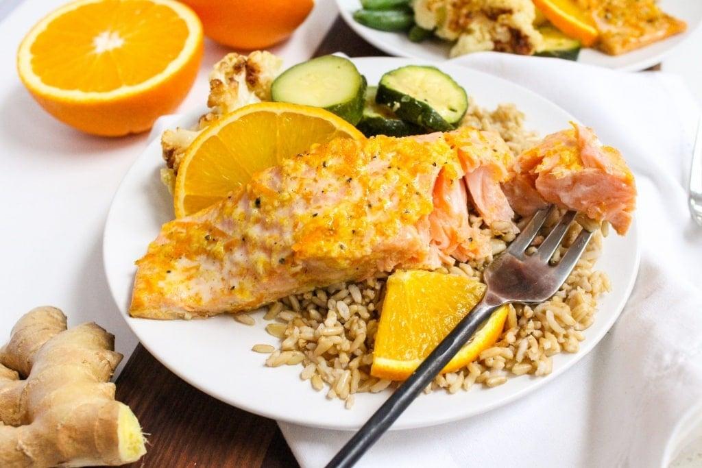 orange ginger salmon recipe easy