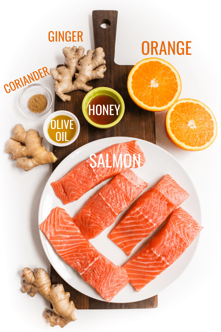 orange ginger salmon recipe ingredients