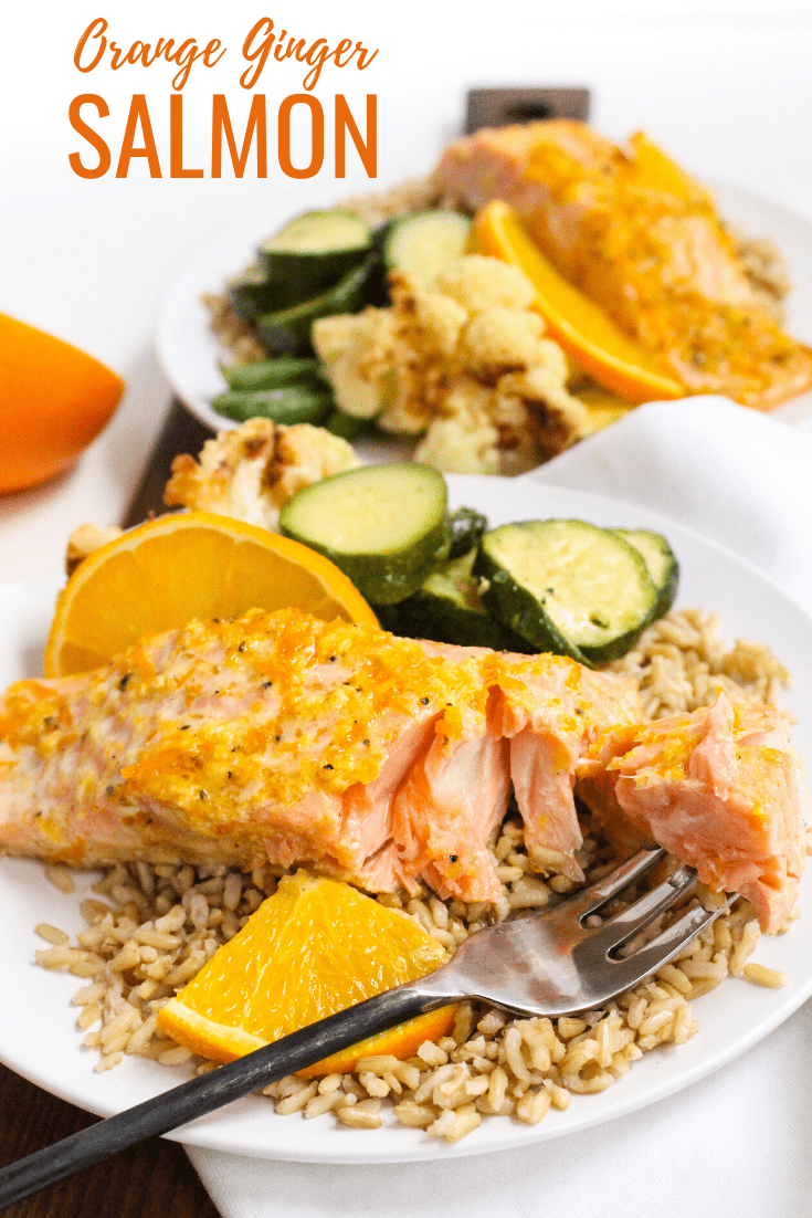 orange ginger salmon recipe