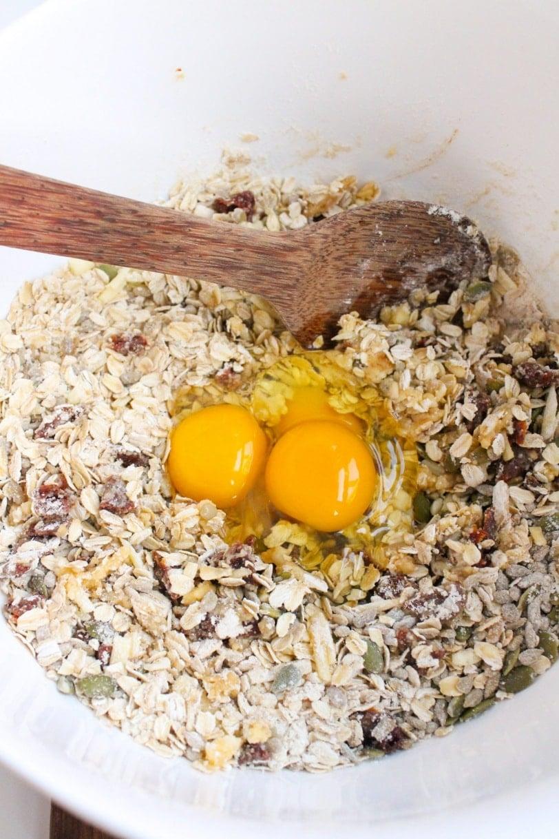 how to make savory granola bars
