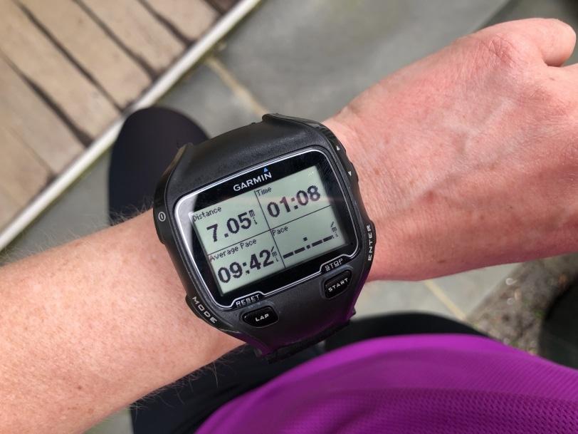 running watch garmin 7 miles