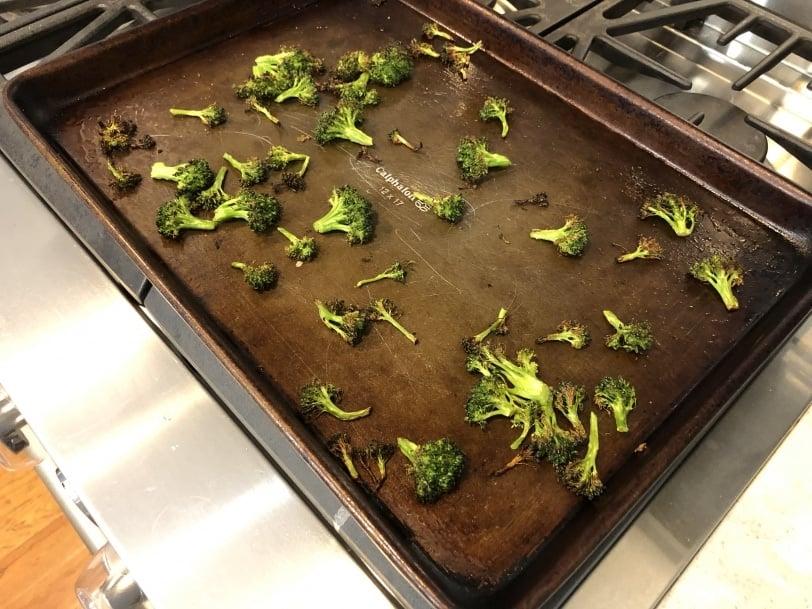 easy delicious roasted broccoli
