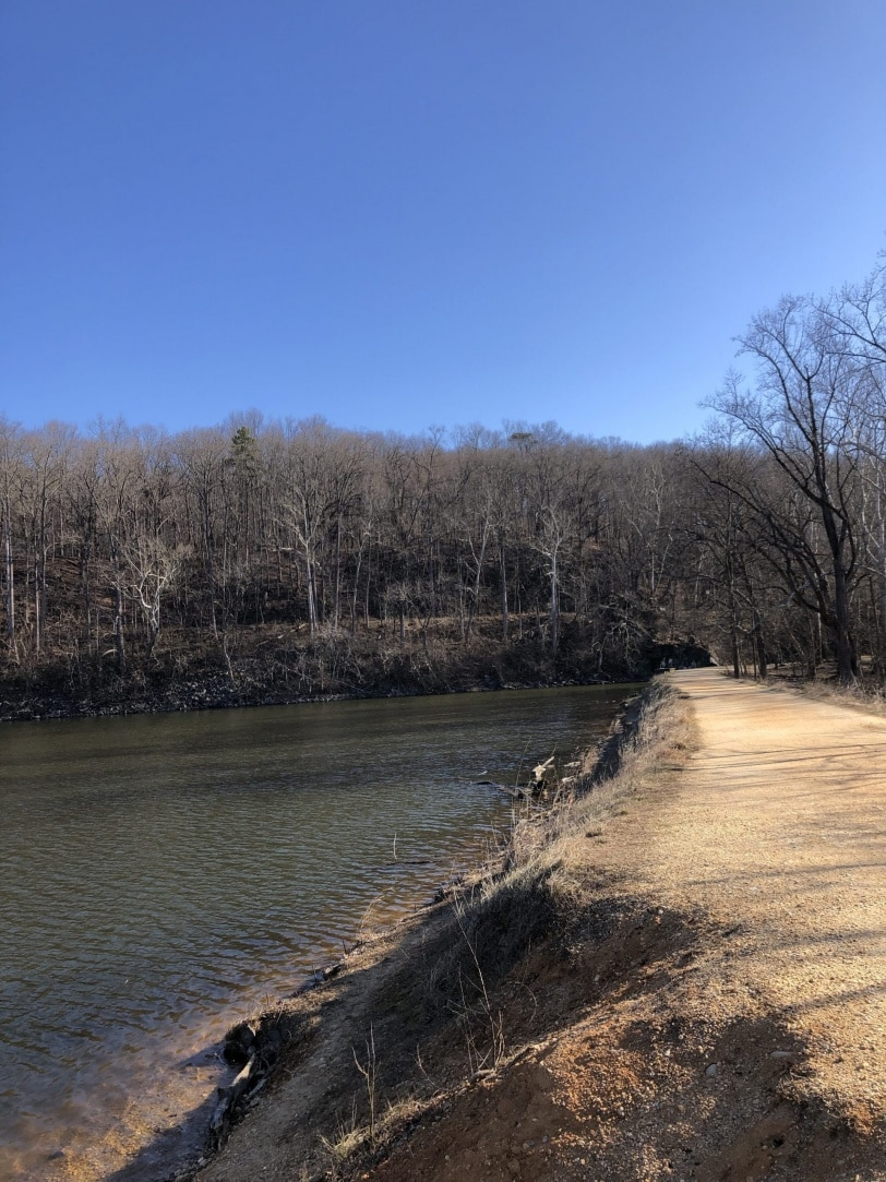 c&o canal trail potomac md