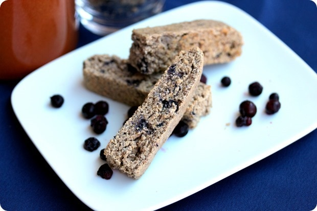 wild blueberry biscotti recipe