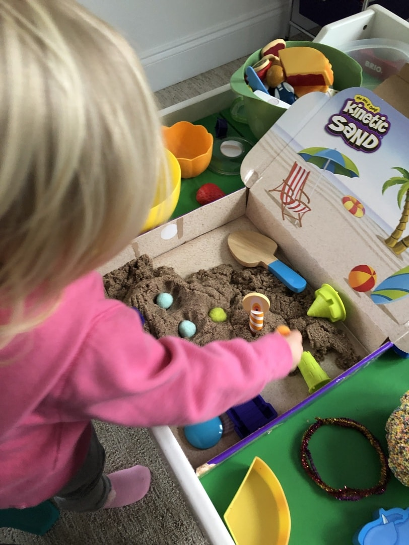 kinetic sand for toddlers review