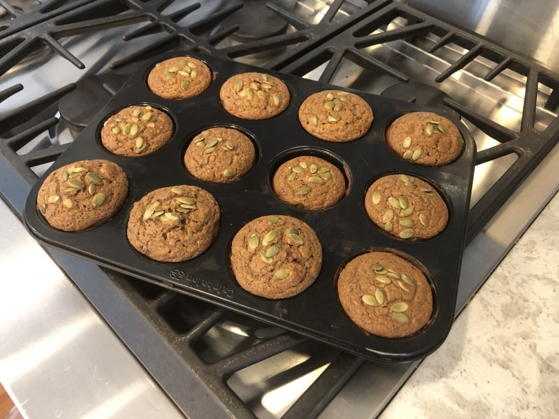 easy gluten free banana muffins from a box mix