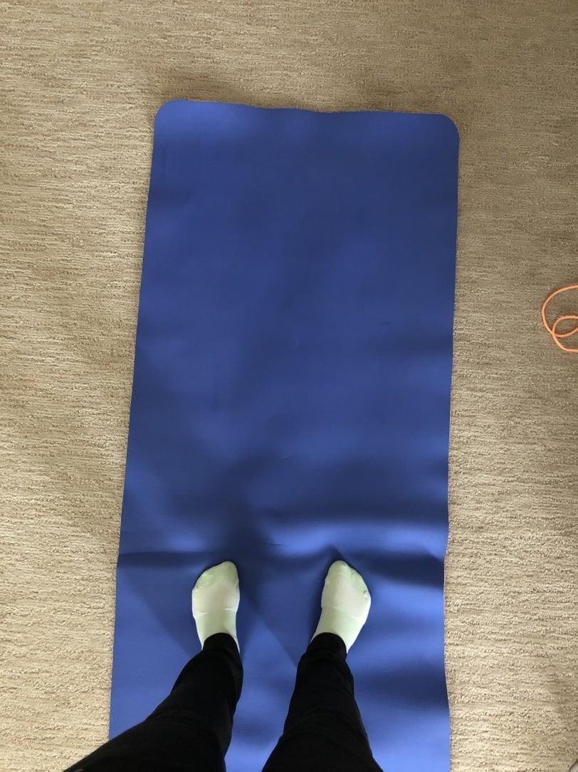 at home yoga via youtube