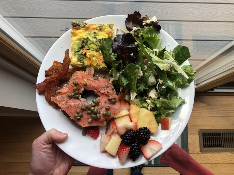 my brunch plate