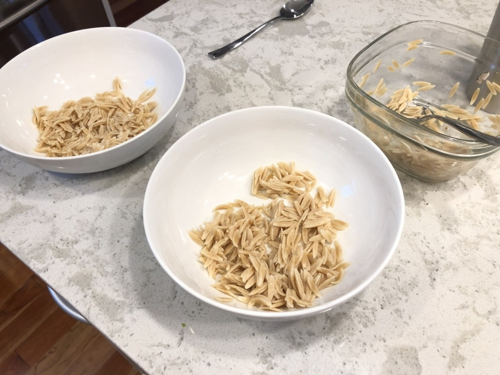 whole wheat orzo