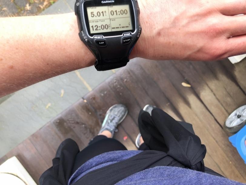 5 mile run walk phone date