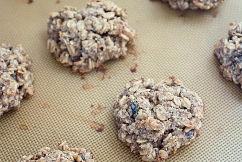 vegan peanut butter power cookies