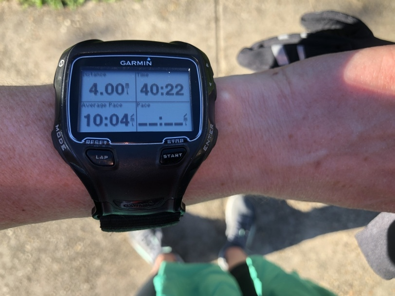 running watch picture 4 miles